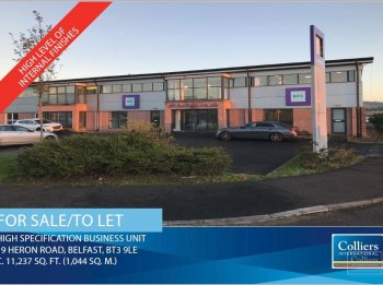 Office for sale or to let in Belfast