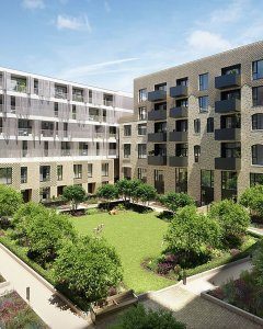New build flat for sale in Bermondsey